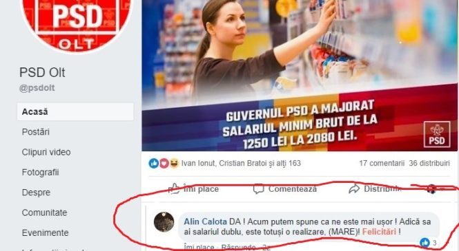 Șeful Direcției Economice Slatina, un bugetar fericit