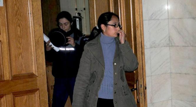 Fosta polițistă Melania Renghea, eliberată condiționat