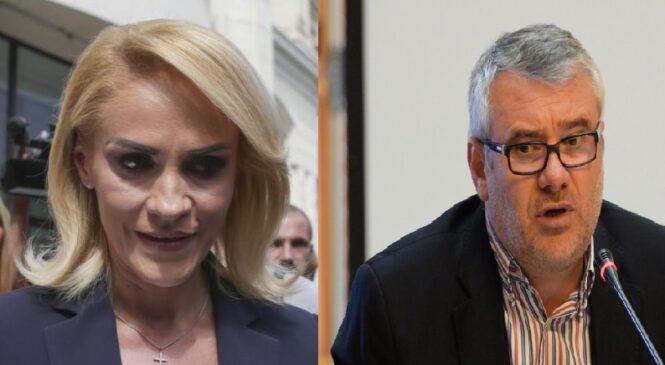 """Gabriela Firea rămâne deocamdată cu onoarea """"nereperată"""" în procesul cu Gigel Știrbu"""