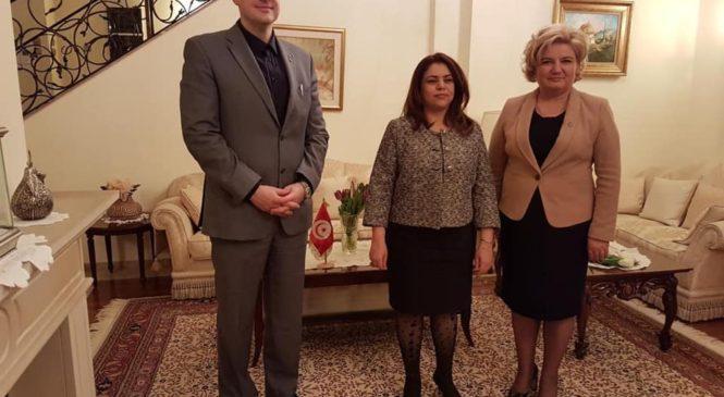 Senatorul Siminica Mirea, întâlnire cu ambasadorul Republicii Tunisiene în România